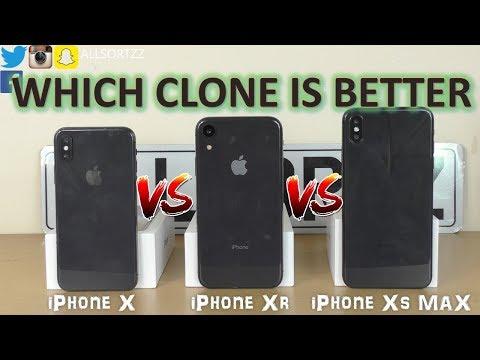iphone xs vs xr