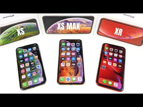 iphone xs max vs iphone xr